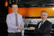 Adam Baker is the best DAF technician in Europe